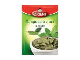 <b>Лавровый лист Orient</b> целый сушеный, 5 г - купить в детском ...