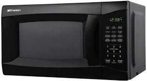 700 watt compact countertop microwave oven in black