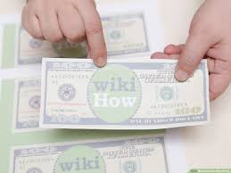 Design Your Own Dollar Bill Template 4 Ways To Make Play Money Wikihow