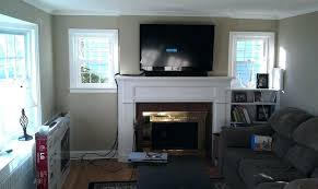 mounting tv over fireplace mounting a over a fireplace wiring full size of mounting on brick