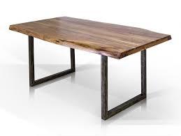 Gera Esstisch Material Massivholz Metall Akazie Lackiert 140x90 Cm