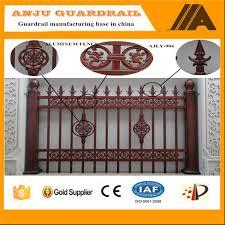 aluminum fence panel for garden