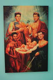 ghostbusters ii saints canvas print 24 x 16 x 75 by brendaneg 59 99