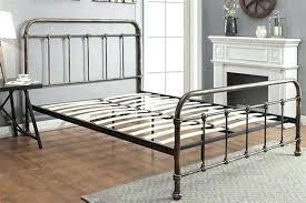 rustic metal bed frames