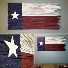 distressed texas wall art which will look great in any rustic texas home