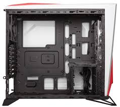 carbide series acirc reg spec alpha mid tower gaming case white red find a retailer