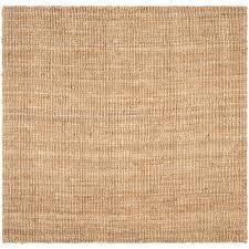 safavieh natural fiber beige 10 ft x 10 ft square area rug