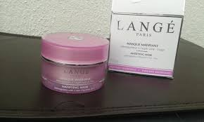 lange paris green clay face mask for oily acne e skin