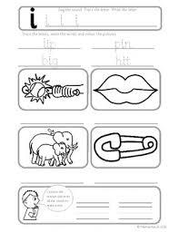 Phonics worksheets and online activities. Phonics Short I Cvc Worksheets By Mr Keech S Classroom Tpt