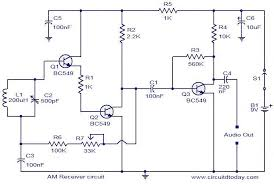 am receiver circuit electronic circuits and diagram electronics circuit diagram am receiver