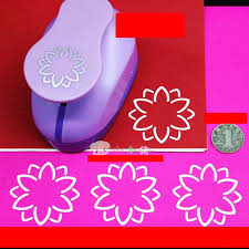 Flower Shaped Paper Punches Free Shipping 2 5 0cm 3d Flower Shape Of Paper Foam Punch