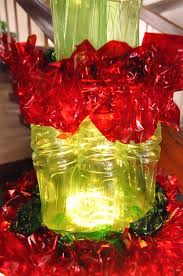 Christmas Decorations Made Out Of Plastic Bottles Christmas Decor Made Of Plastic Bottle Dale wayne nifty homestead 95