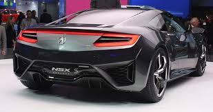 acura 2015 nsx. 2015 acura nsx rear view nsx