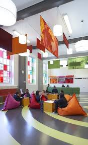 Westhill Primary School London I Love The Tranquil Yet Inviting Adorable Architecture And Interior Design Schools Decor