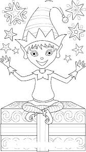 Elf On The Shelf Printable Coloring Pages Elf On The Shelf Printable