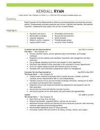 Best Retail Customer Service Representative Resume Example