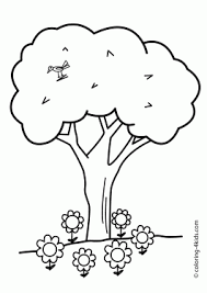 Nature Coloring Pages For Kids Printable Free