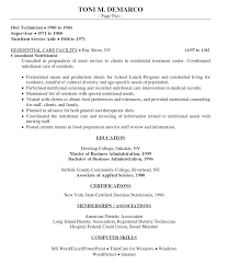 sample resume for food service manager top - Food Server Resume Objective