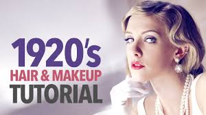 1920s Long Hair Style 1920s makeup & hair tutorial youtube 5234 by wearticles.com