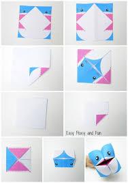 shark cootie catcher origami for kids easy peasy and fun origami instructions cootie catcher shark