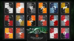 the international 3 banners teams dota 2 wallpapers