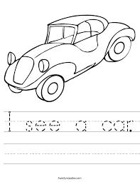 car worksheets | see a car. Worksheet | cars | Pinterest ...