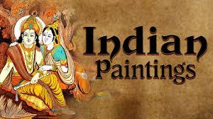 indian paintings types cave painting miniature painting indian paintings ias upsc lesson