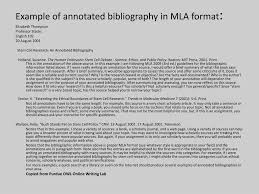 Ppt Annotated Bibliography Powerpoint Presentation Id2370990