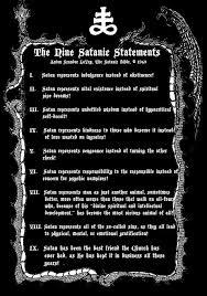 s com  church of satan s nine satanic statements print by warlock draconis blackthorne