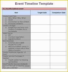 Free Event Planner Templates Free Event Planning Templates Of 8 Event Timeline Templates