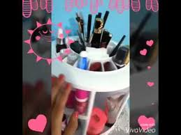 360 degree makeup organizer instock