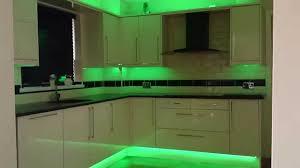 image of green led tape light kit