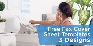 Free Fax Cover Sheet Templates - Pdf, Docx And Google Docs