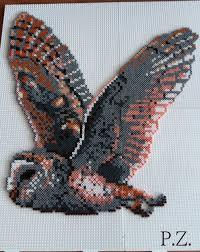 Mini Perler Bead Patterns Gorgeous Eule Mini Hama Beads By Piazobel48 Kandi Photos On Kandi Patterns