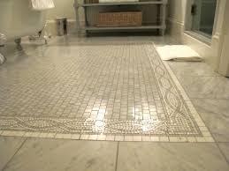 marble floor tile. Lovable Mosaic Tile Bathroom Floor And Marble Design Ideas