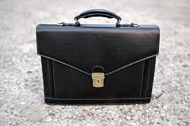 tags briefcases black leather bag leather portfolio