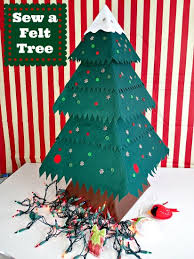 How to make and sew a fab Felt Christmas Tree