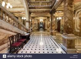Chambers Interior Design Interior View Of Ornate Atrium Inside Glasgow City Chambers