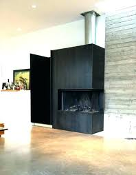 metal fireplace surround blackened steel fireplace surround photo of gossamer metal works home interior design stainless metal fireplace