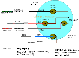 how to vw schematics shoptalkforums com wiring of 2 prong brake light switches 68 69 3rd switch for warning light wiring of 3 prong brake light switches 70 and later warning