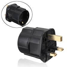 Germany <b>EU</b> To <b>UK</b> GB <b>England</b> AC Power Travel Converter ...