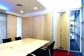 business room dividers ceiling mounted sliding wall divider soundproof sli