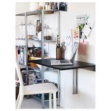 homcom wall mounted floating desk w storage white aosom co uk