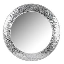 Wilko Silver Mosaic Mirror at wilko