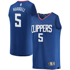 Fanatics - Fast Edition Clippers Harrell Break Icon Royal Montrezl Replica La Jersey Player Men's Branded bdeacbdcac|The Most Effective In The NFL