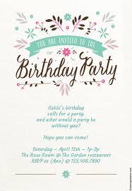 15 Free Printable Childrens Birthday Party Invitations Sp