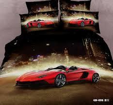 queen size car beds 3 7 piece 100 cotton race car bedding set full queen size bed