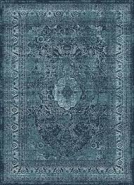attractive blue area rugs with regard to tayse concept cnc1003 rug transitional carpetmart