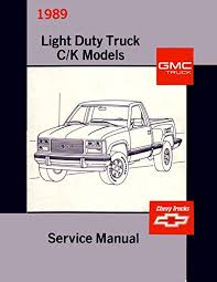 1989 Chevy Truck Wiring Lights 87 Chevy Truck Wiring Diagram