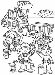Small Picture Download Bob The Builder Coloring Pages Printable Ziho Coloring